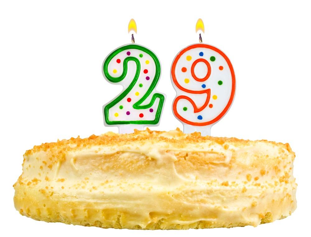 Поздравление себе на 29 лет